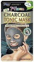 """Parfumuri și produse cosmetice Mască de țesut """"Cărbune"""" - 7th Heaven Charcoal Tonic Sheet Mask"""