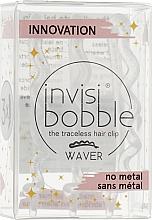 Parfumuri și produse cosmetice Agrafă pentru păr, transparentă cu paiete - Invisibobble Waver Sparks Flying