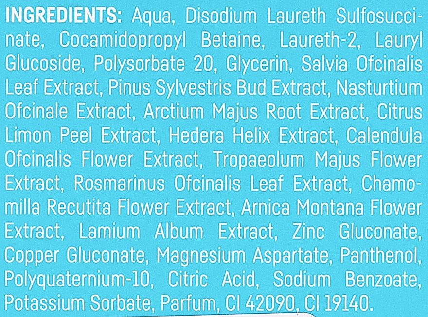 Șampon pentru păr gras - BasicLab Dermocosmetics Capillus Shampoo For Greasy Hair — Imagine N4