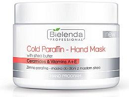 Parfumuri și produse cosmetice Mască cu parafină rece pentru mâini, cu extract de unt de Shea - Bielenda Professional Cold Paraffin Hand Mask With Shea Butter (400 g)