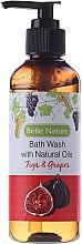 Parfumuri și produse cosmetice Gel de duș cu aromă de smochine și struguri - Belle Nature Bath Wash Figs&Grapes