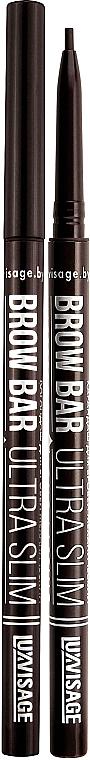 Creion mecanic pentru sprâncene - Luxvisage Brow Bar Ultra Slim