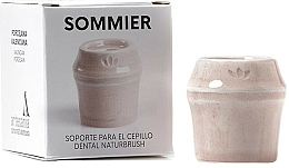 Parfumuri și produse cosmetice Suport periuță de dinți, roz - NaturBrush Sommier Toothbrush Holder