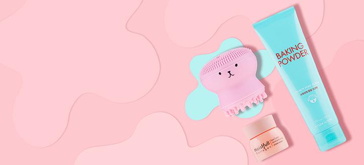 La achiziționarea produselor Etude House începând cu suma de 129 RON, primești cadou o perie de silicon pentru curățarea facială