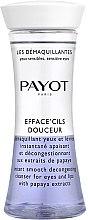 Parfumuri și produse cosmetice Demachiant cu extract de papaya pentru ochi și buze - Payot Les Demaquillantes Efface Cils Douceur Instant Smooth Decongesting Cleanser