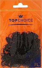 Parfumuri și produse cosmetice Elastice de păr, 22722, negre - Top Choice