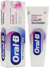 Parfumuri și produse cosmetice Pastă de dinți - Oral-B Professional Sensitivity & Gum Calm Gentle Whitening