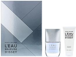 Parfumuri și produse cosmetice Issey Miyake L'Eau Majeure D'Issey - Set (edt/50ml + sh/g/100ml)