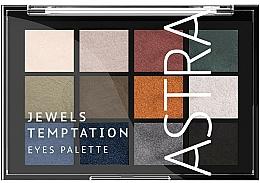 Parfumuri și produse cosmetice Paletă farduri de ochi - Astra Make-up The Temptation Palette