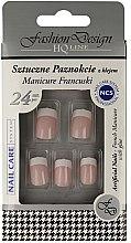 """Parfumuri și produse cosmetice Unghii false """"Manichiura franceză"""" - Top Choice Fashion Design"""