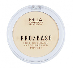 Parfumuri și produse cosmetice Pudră compactă matifiantă pentru față - MUA Pro-Base Full Coverage Matte Pressed Powder