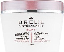 Parfumuri și produse cosmetice Mască pentru păr rebel - Brelil Bio Treatment Soft Untangling Mask
