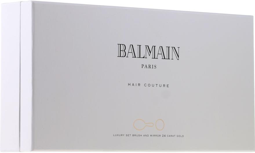 Set pentru îngrijirea părului - Balmain Paris Hair Couture (silk parfume/50ml + mirror + h/brush) — Imagine N1