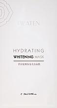 Parfumuri și produse cosmetice Mască hidratantă pentru față - Pil'aten Hydrating Whitening Mask