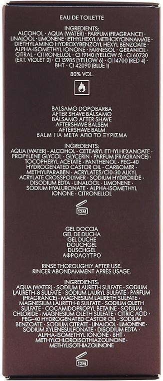 Dolce & Gabbana The One for Men - Set (edt 100ml + a/sh balm 50ml + sh/gel 50ml) — Imagine N2