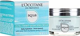 Parfumuri și produse cosmetice Cremă hidratantă pentru față - L'Occitane Aqua Reotier Acial Ultra Hidratante