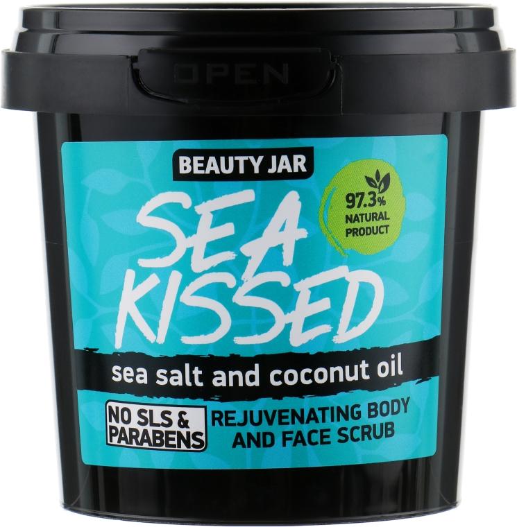 """Scrub pentru față și corp """"Sea Kissed"""" - Beauty Jar Rejuvenating Body And Face Scrub"""