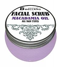 Parfumuri și produse cosmetice Scrub facial cu ulei de macadamia - Fergio Bellaro Facial Scrub