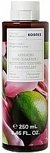"""Parfumuri și produse cosmetice Gel de duș regenerant """"Ginger&Lime"""" - Korres Ginger Lime Renewing Body Cleanser"""