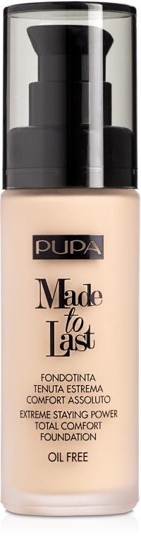 Primer pentru față - Pupa Made To Last Foundation