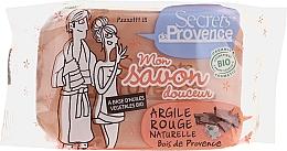 Parfumuri și produse cosmetice Săpun cu argilă roșie - Secrets De Provence My Soap Bar Wood Of Provence Perfume