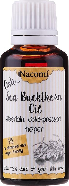 Ulei de cătină pentru față - Nacomi Oil Seed Oil Beauty Essence