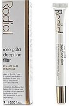 Parfumuri și produse cosmetice Filler împotriva ridurilor profunde - Rodial Rose Gold Deep Line Filler