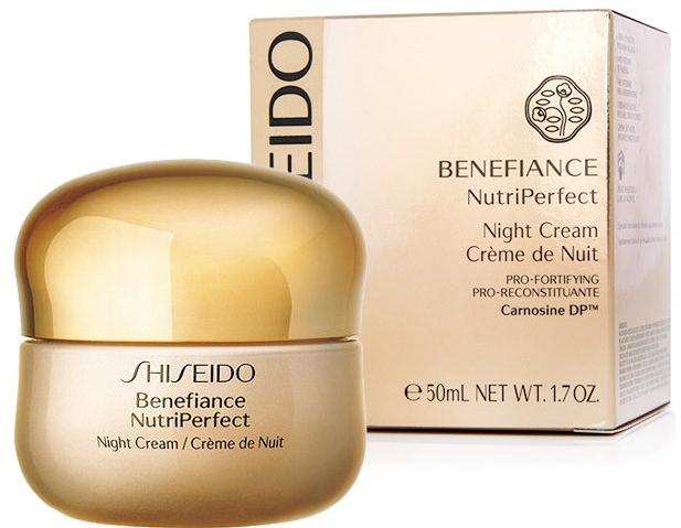 Cremă de noapte pentru față - Shiseido Benefiance NutriPerfect Night Cream  — Imagine N2