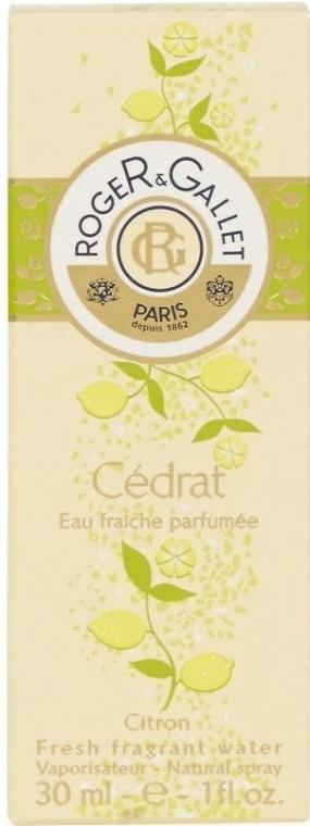 Roger & Gallet Cedrat - Apă de parfum — Imagine N6