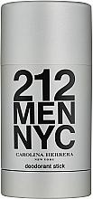 Parfumuri și produse cosmetice Carolina Herrera 212 For Man NYC - Deodorant stick