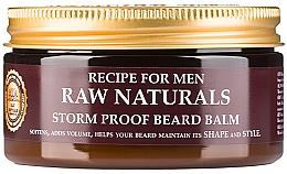 Parfumuri și produse cosmetice Balsam de barbă - Recipe For Men RAW Naturals Storm Proof Beard Balm