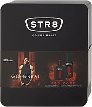 Parfumuri și produse cosmetice STR8 Red Code - Set (edt/50ml + deo/150ml)