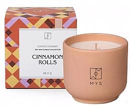 """Parfumuri și produse cosmetice Lumânare din soia """"Chiflă cu scorțișoară"""" - Mys Cinnamon Rolls Candle"""
