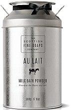 Parfumuri și produse cosmetice Pudră pentru corp - Scottish Fine Soaps Au Lait Milk Bath Powder