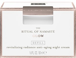 Cremă de noapte pentru față - Rituals The Ritual Of Namaste Radiance Anti-Aging Night Cream Refill — Imagine N1