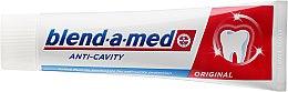 """Pastă de dinți """"Anticarii"""" - Blend-A-Med Anti-Cavity Original Toothpaste — Imagine N2"""
