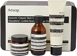 Set - Aesop Quench Classic Skin Care Kit (toner/100ml + cream/100 + cream/60) — Imagine N1