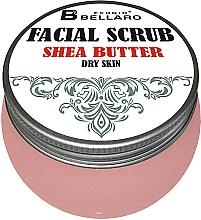Parfumuri și produse cosmetice Scrub facial cu unt de shea - Fergio Bellaro Facial Scrub Shea Butter
