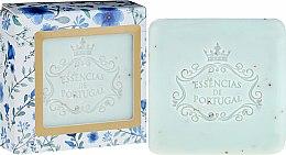 Parfumuri și produse cosmetice Săpun-scrub - Essencias De Portugal Violet And Apricot Kernel Scrub Aromatic Soap