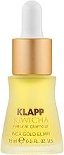 Parfumuri și produse cosmetice Elixir pentru față - Klapp Kiwicha Inca Gold Elixir