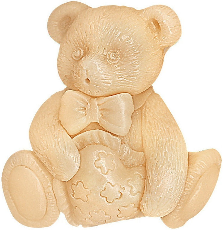 "Săpun cu glicerină ""My Bear"" - Bulgarian Rose Natural Glycerin Fragrant Soap Pooh Teddy Bear — Imagine N1"