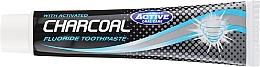 Pastă de dinți, cu cărbune activ - Beauty Formulas Charcoal Activated Fluoride Toothpaste — Imagine N2
