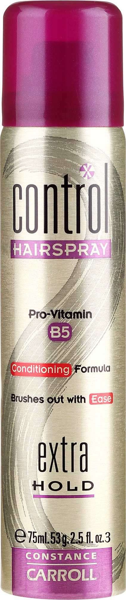 Lac fixativ de păr extra puternic - Constance Carroll Control Hair Spray Extra Hold — Imagine 75 ml