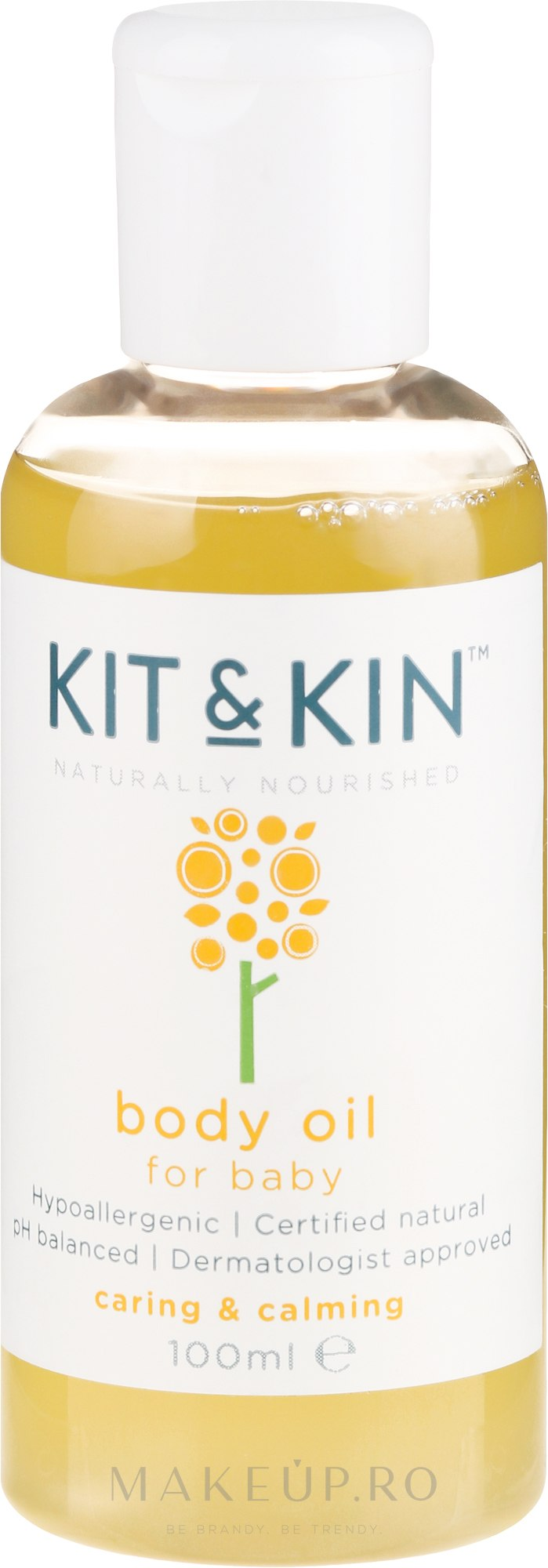 Ulei de corp - Kit and Kin Body Oil — Imagine 100 ml