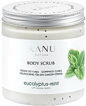 """Parfumuri și produse cosmetice Scrub pentru picioare """"Eucalipt cu mentă"""" - Kanu Nature Eucalyptus With Mint Body Scrub"""