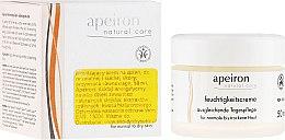 Parfumuri și produse cosmetice Cremă de zi hidratantă pentru piele normală și uscată - Apeiron Moisturizing Cream