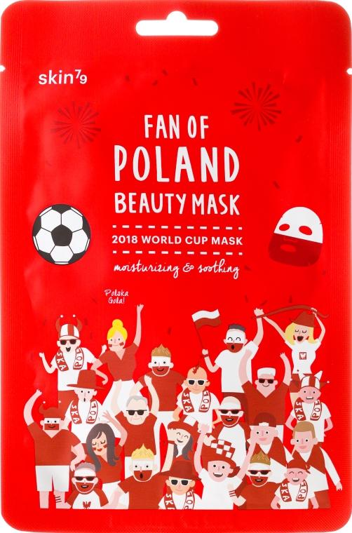 Mască de față - Skin79 Fan Of Poland Beauty Mask — Imagine N1