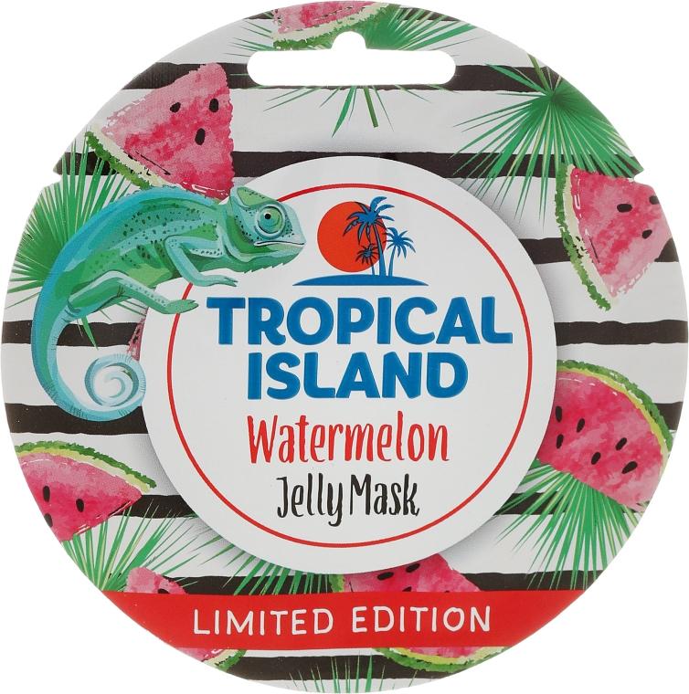 """Mască de față """"Pepene verde"""" - Marion Tropical Island Watermelon Jelly Mask"""