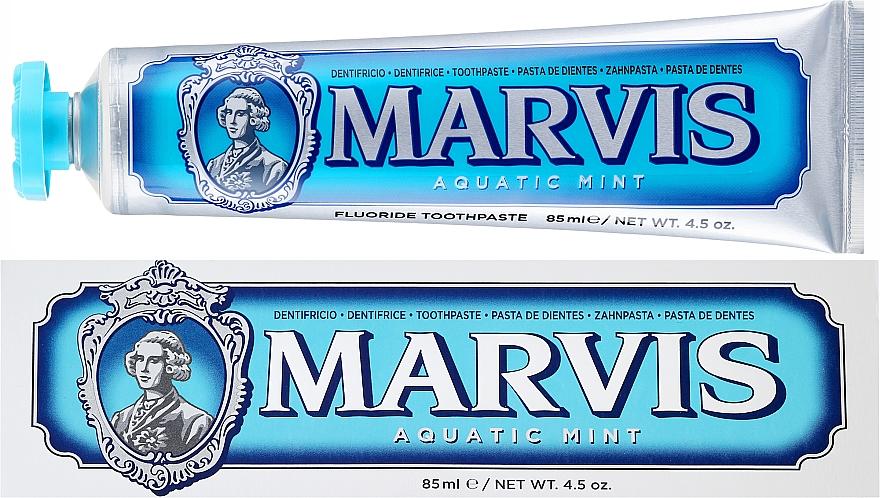 """Pastă de dinți cu xilitol """"Mentă"""" - Marvis Aquatic Mint + Xylitol"""
