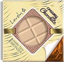Parfumuri și produse cosmetice Pudră-bronzer pentru față - Lovely Creamy Chocolate Deep Matte Bronze